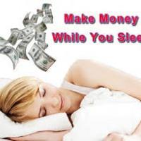 Make money online even if you`re asleep!